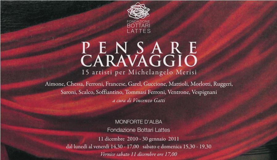 Pensare Caravaggio