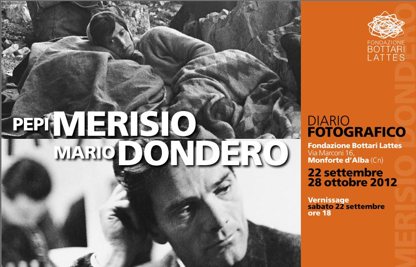 Pepi Merisio e Mario Dondero