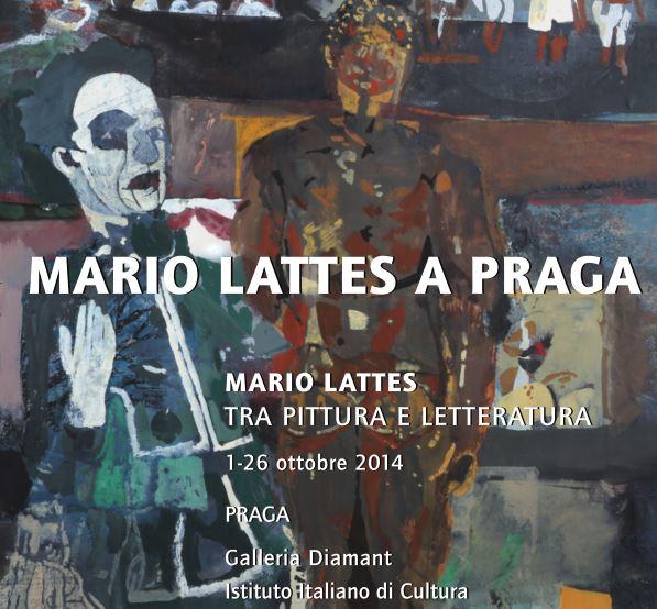 Mostra Mario Lattes a Praga, Galleria Diamant