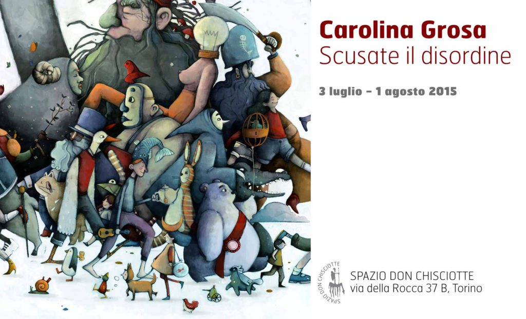 Carolina Grosa Scusate il disturbo