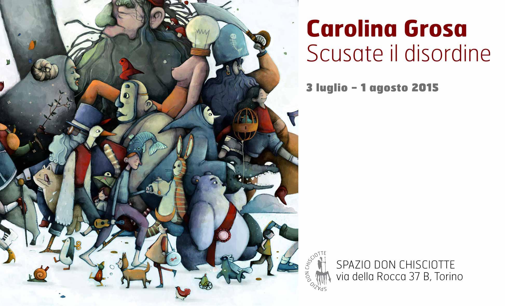 Carolina Grosa Scusate il disturbo