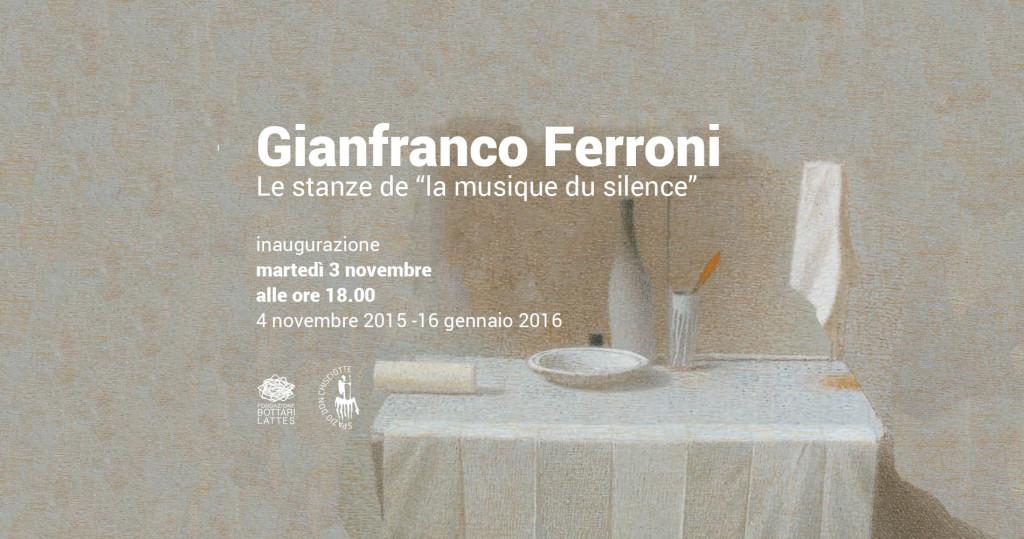 Gianfranco Ferroni, le stanze de
