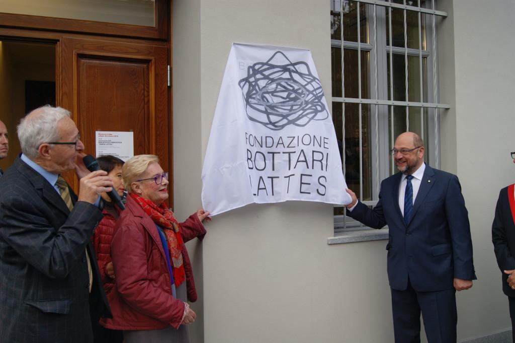 Inaugurazione della biblioteca Mario Lattes