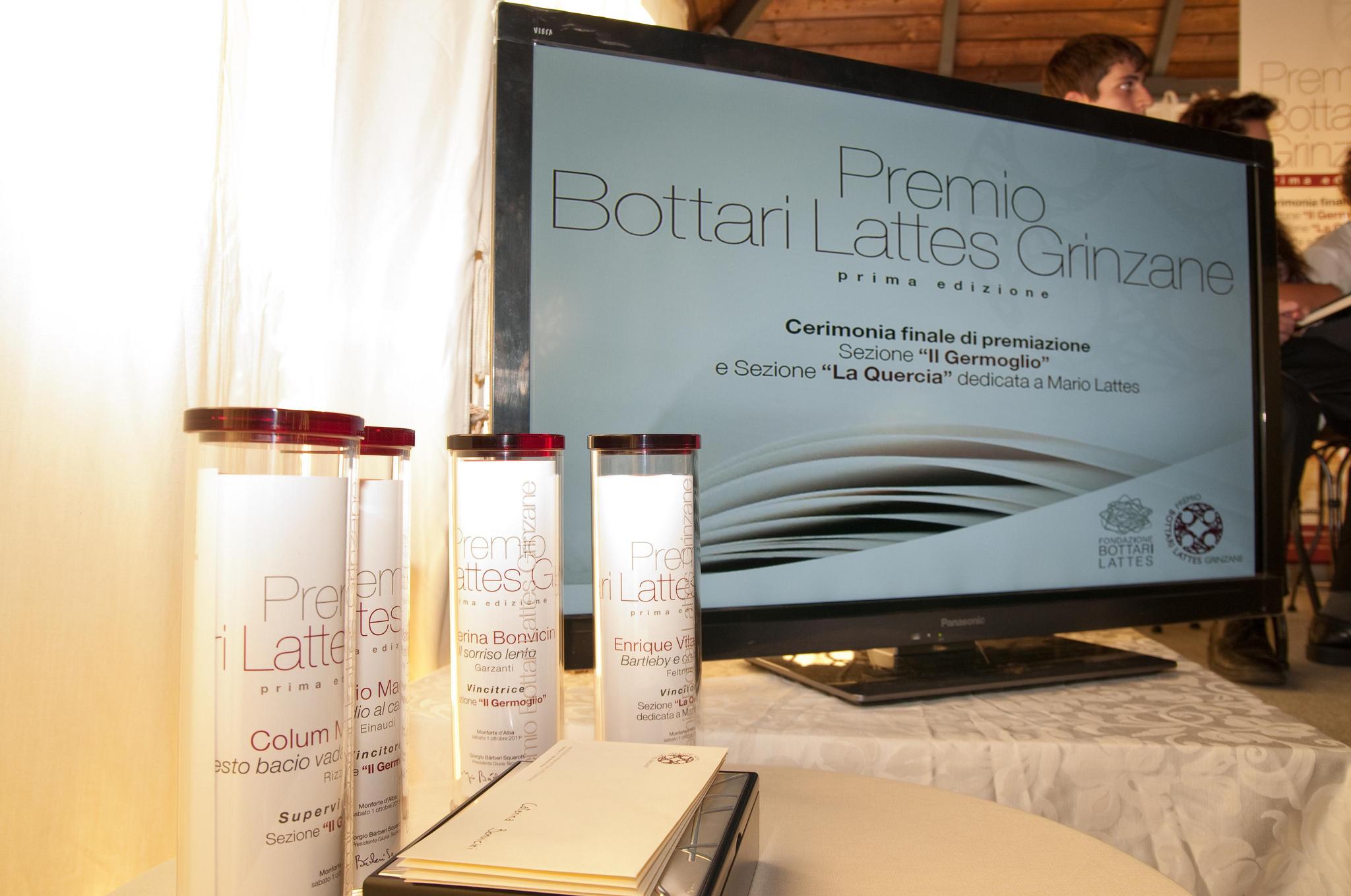 Prima edizione del Premio Bottari Lattes