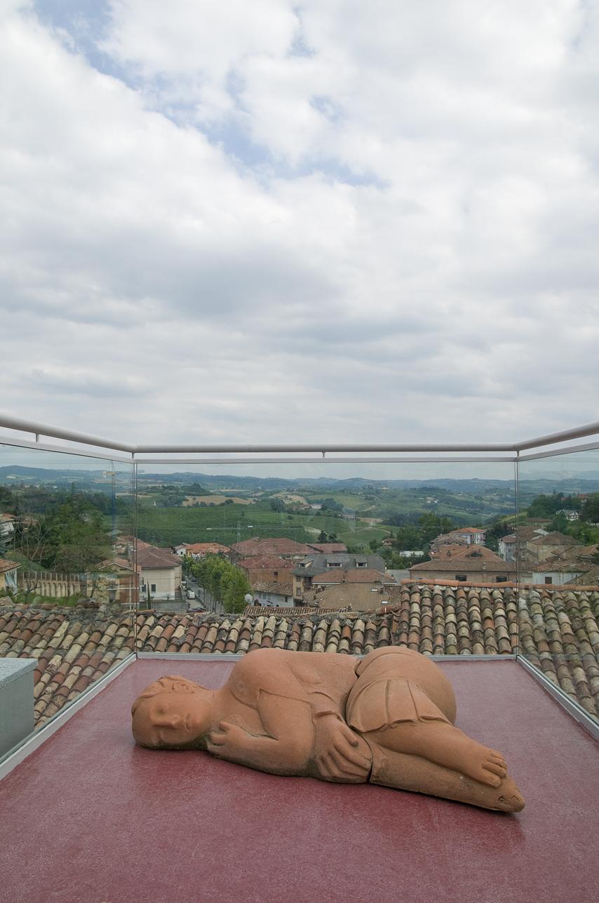 La terrazza della Fondazione Bottari Lattes