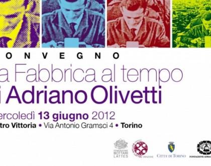 Convegno Olivetti e la fabbrica del tempo