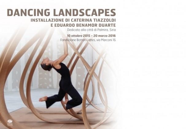 Dancing landscape inaugurazione biblioteca pinacoteca
