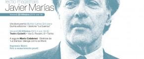 Lectio magistralis 2015 Javier Marias