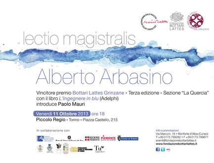 Lectio magistralis Alberto Arbasino Premio Bottari Lattes Grinzane
