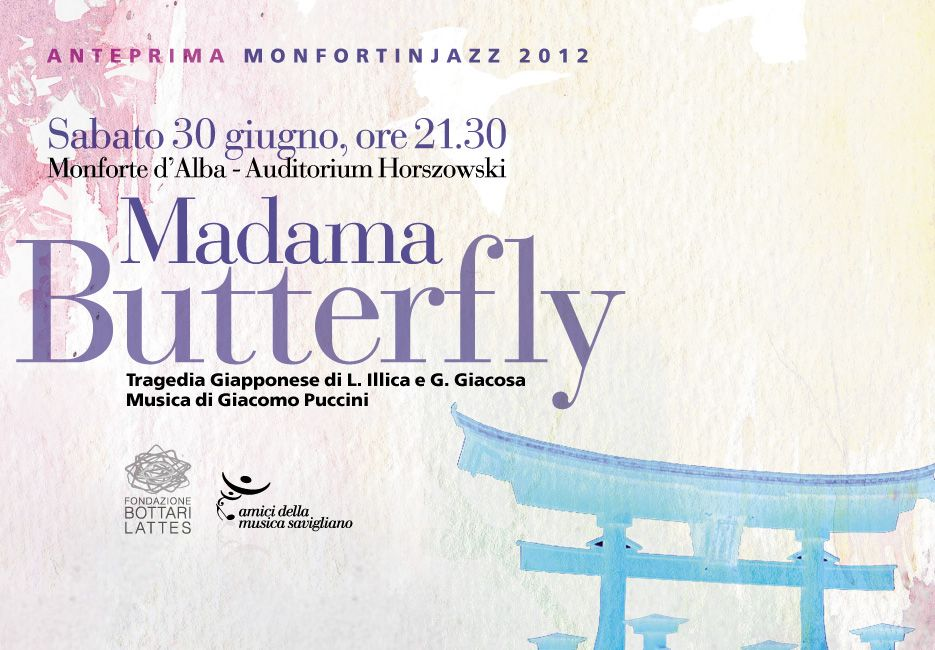 Madame Butterfly anteprima Monforte in Jazz