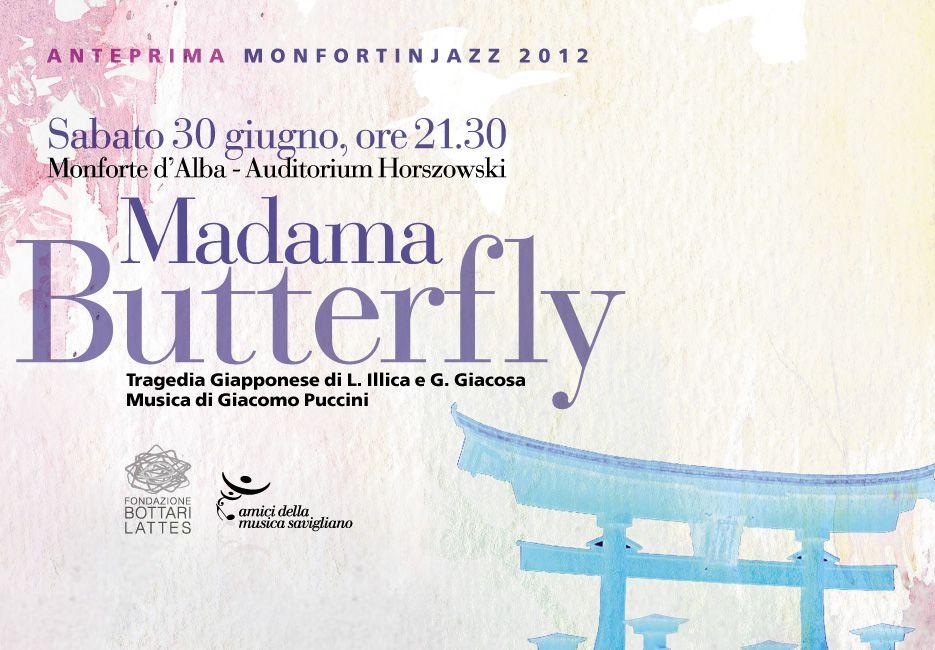 Madame Butterfly anteprima Monforte in Jazz