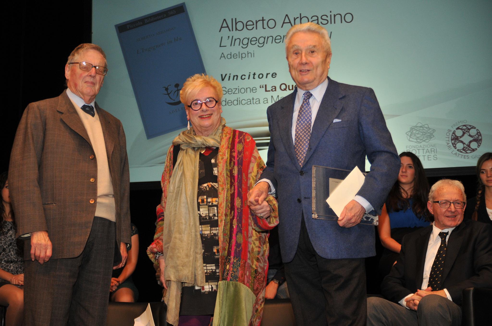 Premiazione Arbasino premio 2013
