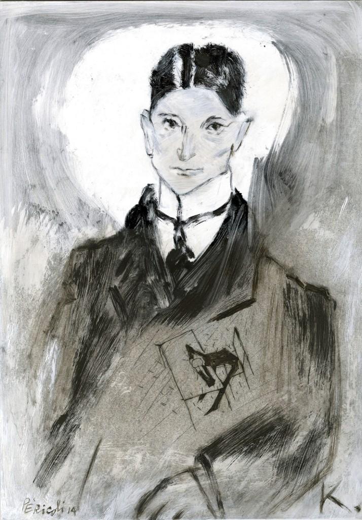 Ritratto Tullio Pericoli Kafka