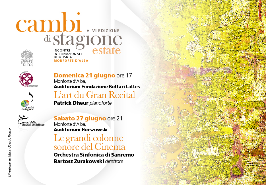 Cambi di stagione estate 2015
