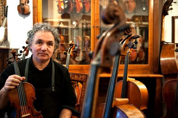 Mostra violini di Lebet