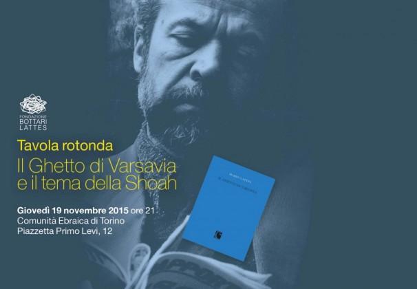 Presentazione del libro Il ghetto di Varsavia di Mario Lattes