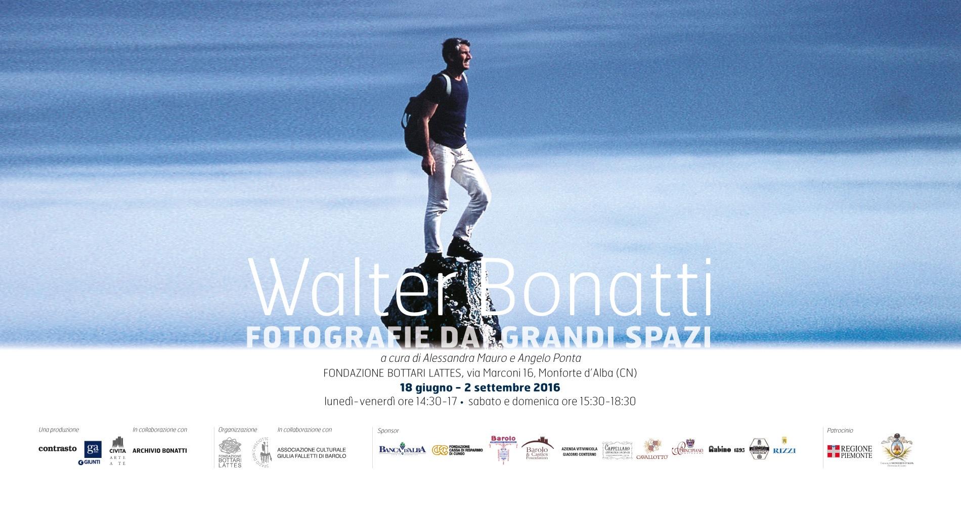Walter BonattiFotografie dai grandi spazi