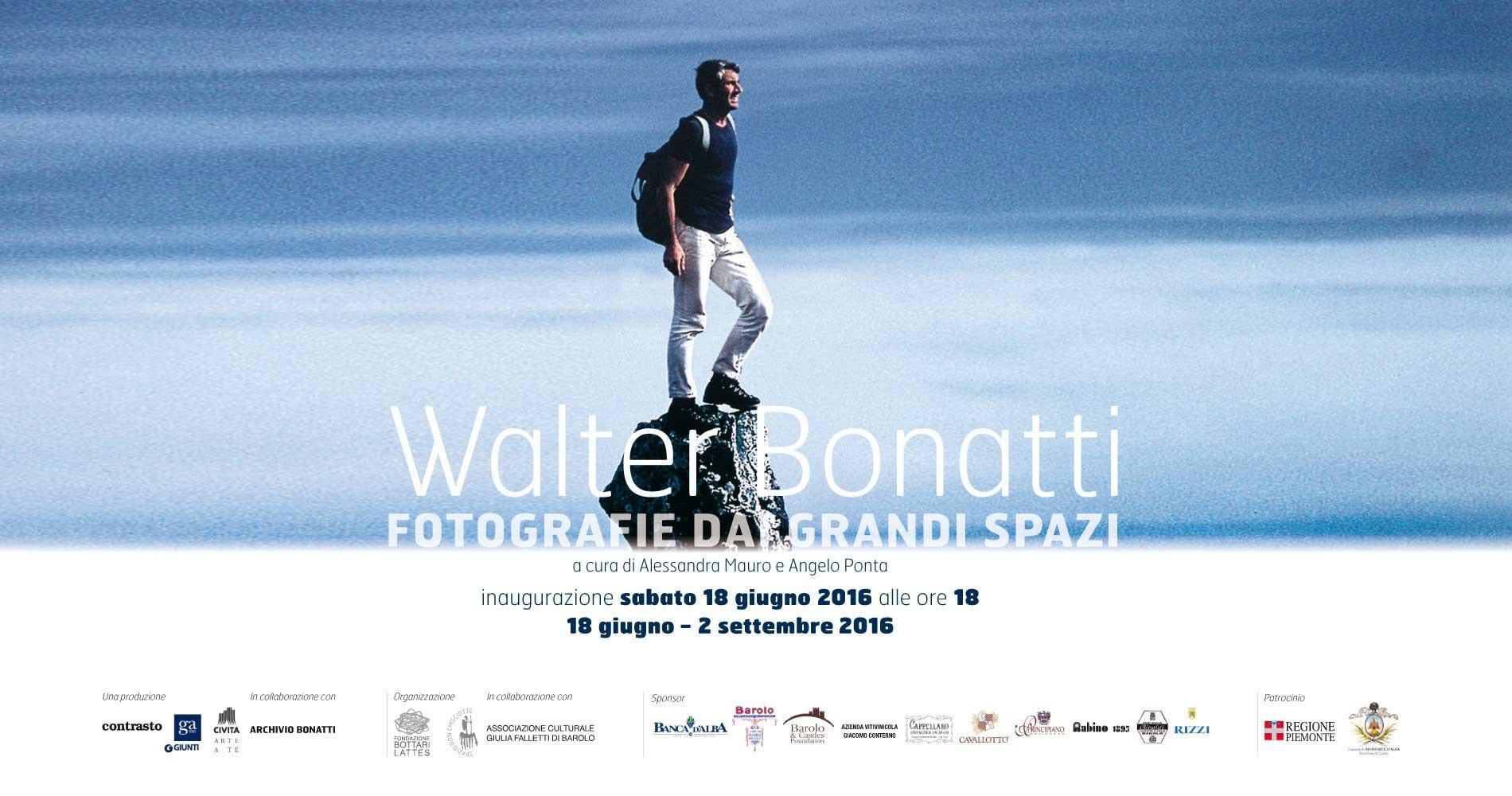 Walter Bonatti, fotografie da grandi spazi