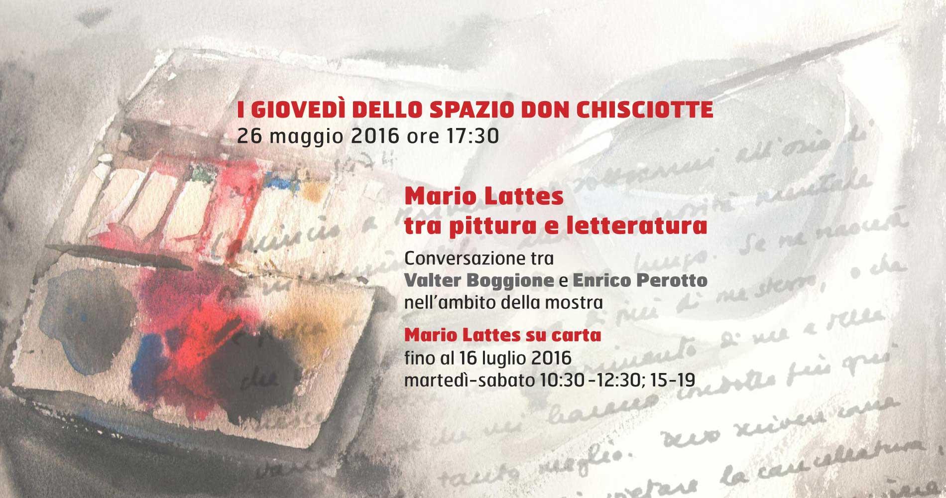 Mario Lattes tra pittura e letteratura