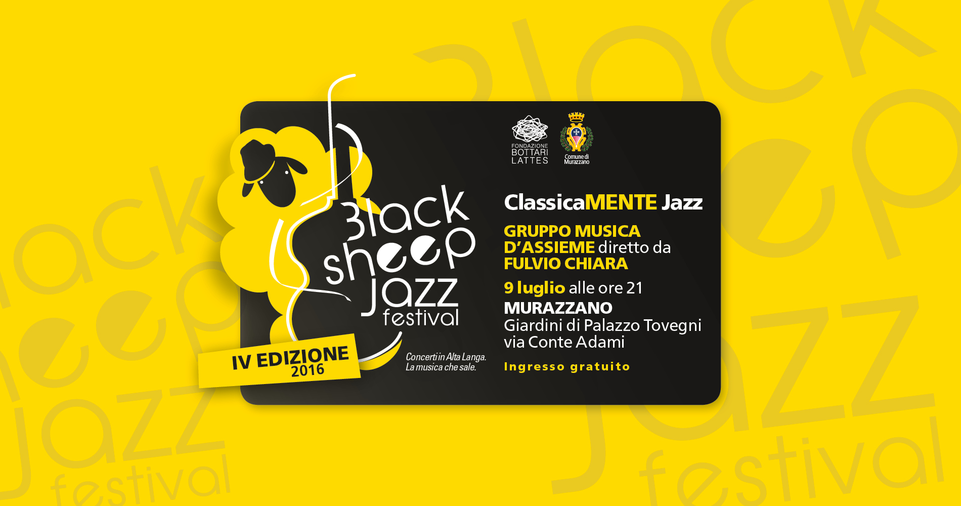 ClassicaMENTE Jazz – Black Sheep Jazz Festival