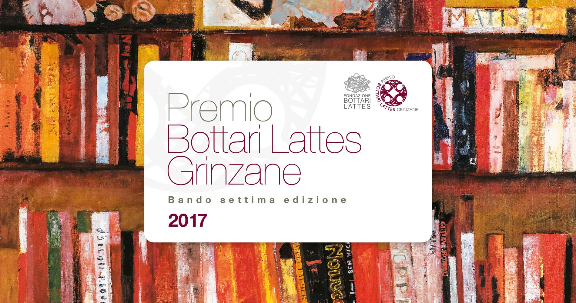 Bando Premio Bottari Lattes Grinzane - VII edizione 2017