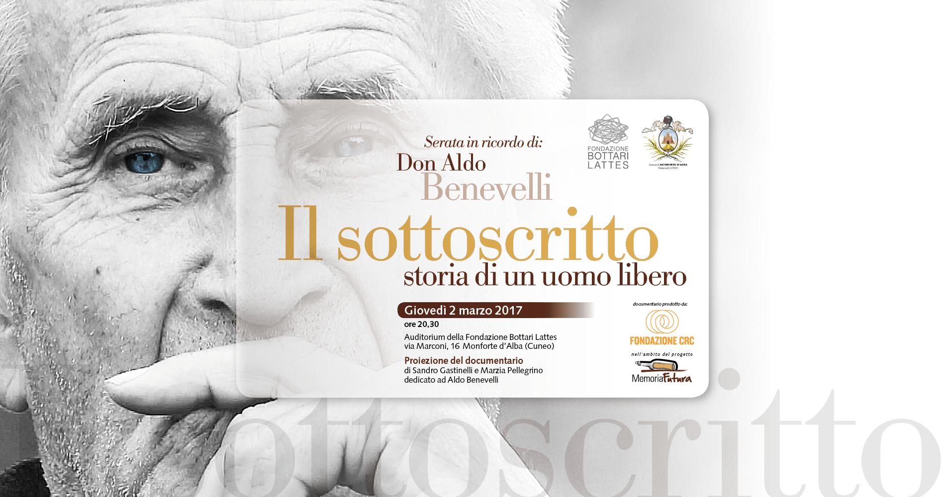 Ricordo di Aldo Benevelli