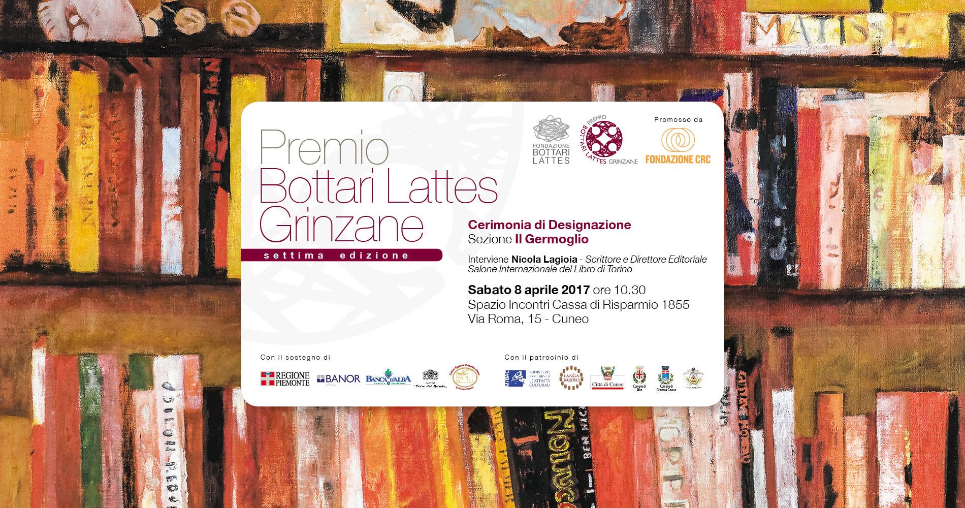 Designazione finalisti Premio Bottari Lattes Grinzane 2017
