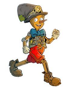 Pinocchio guida DEF - Ilustrazione di Boban Pesov per Vivolibro_bd
