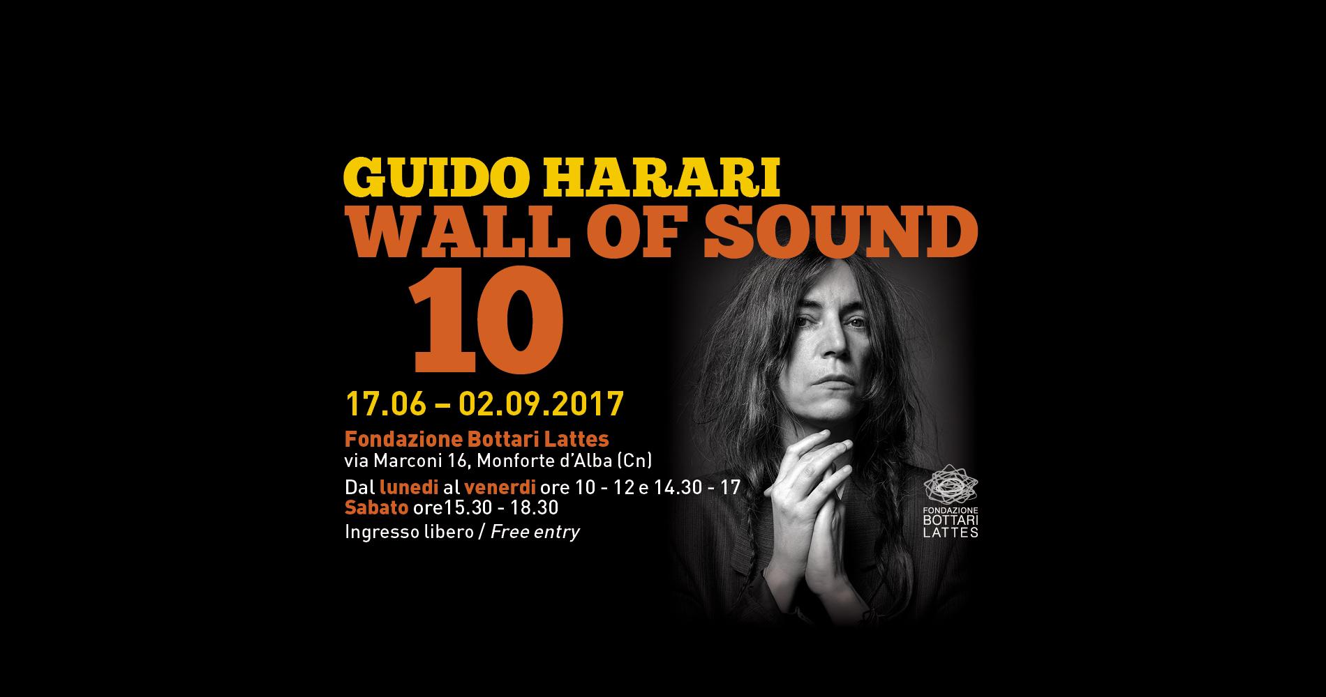 """Gli scatti di Guido Harari alla mostra """"Wall of Sound 10"""""""