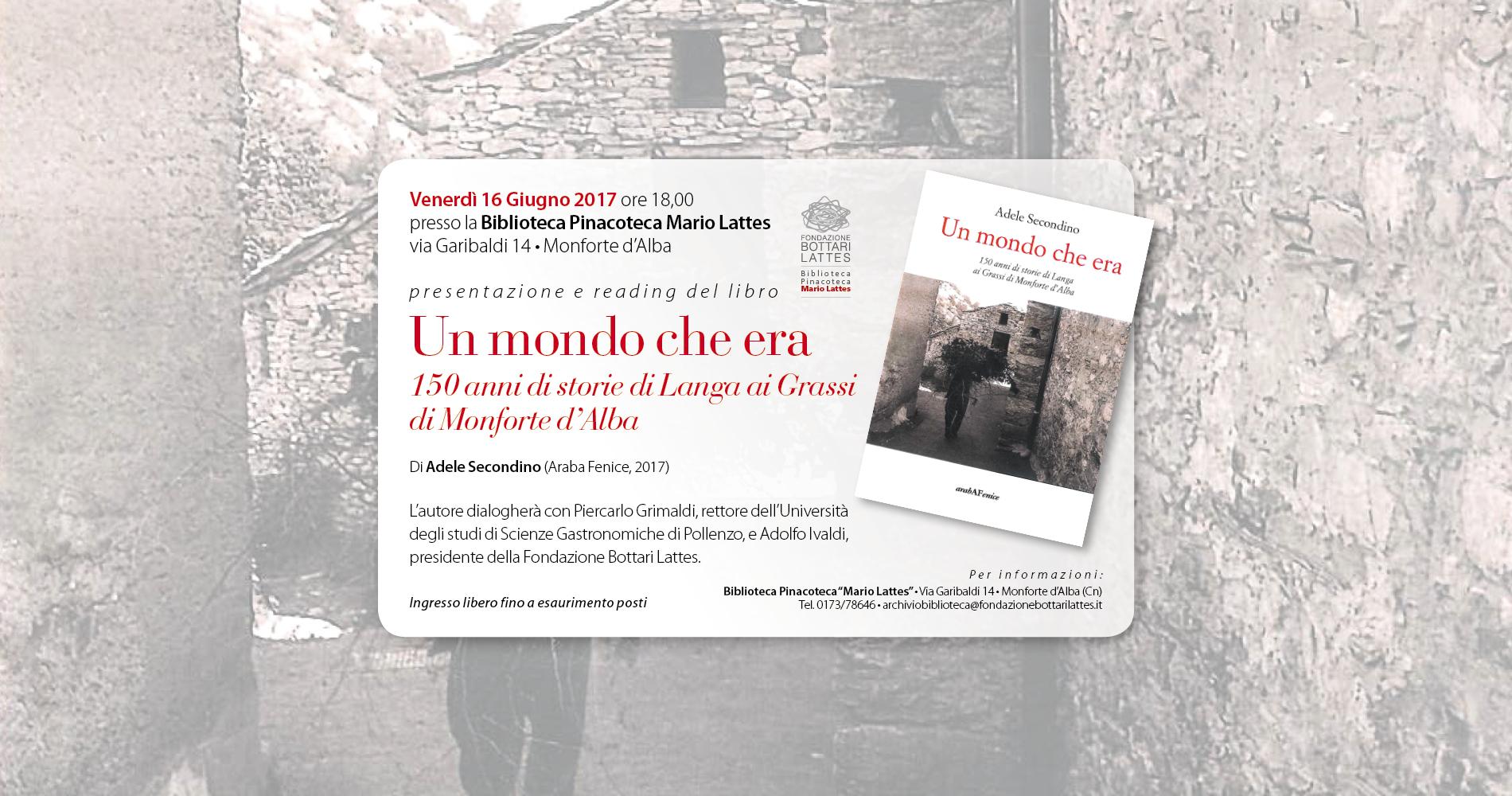 Le Langhe e i suoi 150 anni di storia raccontati da Adele Secondino