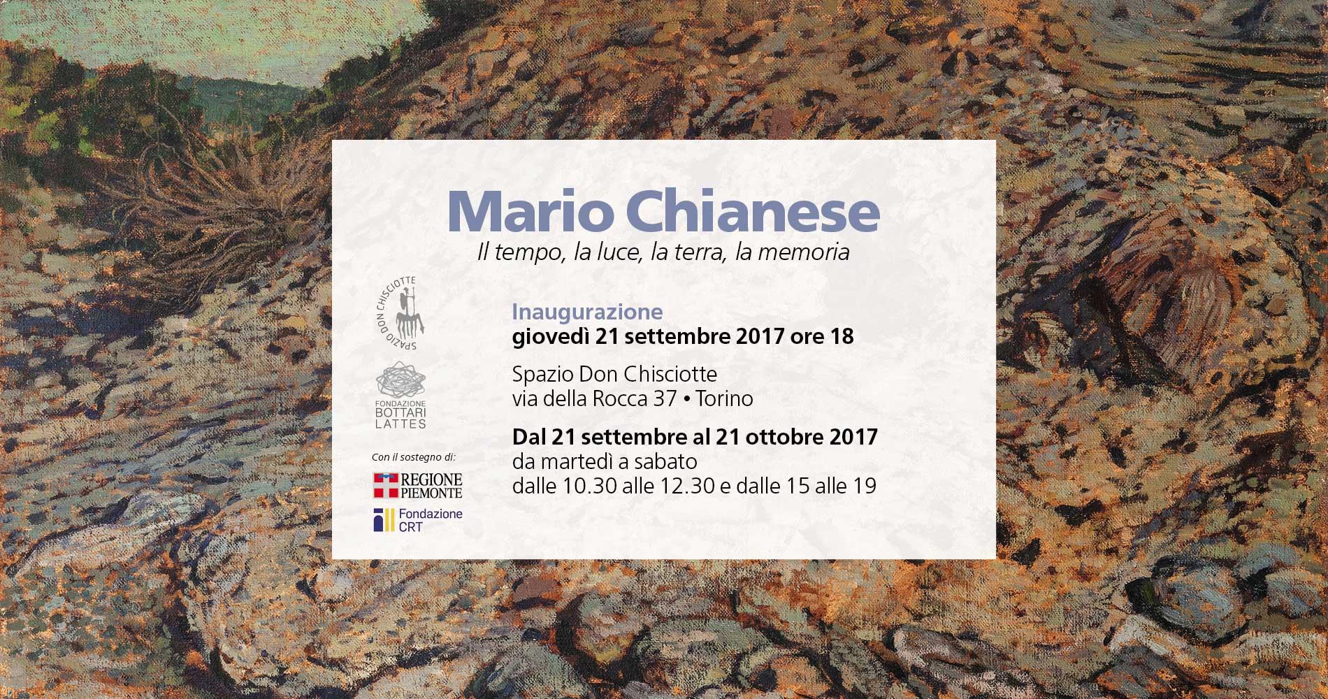 Il tempo, la luce, la terra, la memoria  La natura in sessant'anni di ricerca di Mario Chianese
