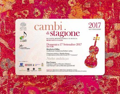 Festival Cambi di Stagione con il Duo Cuenca, 17 settembre 2017