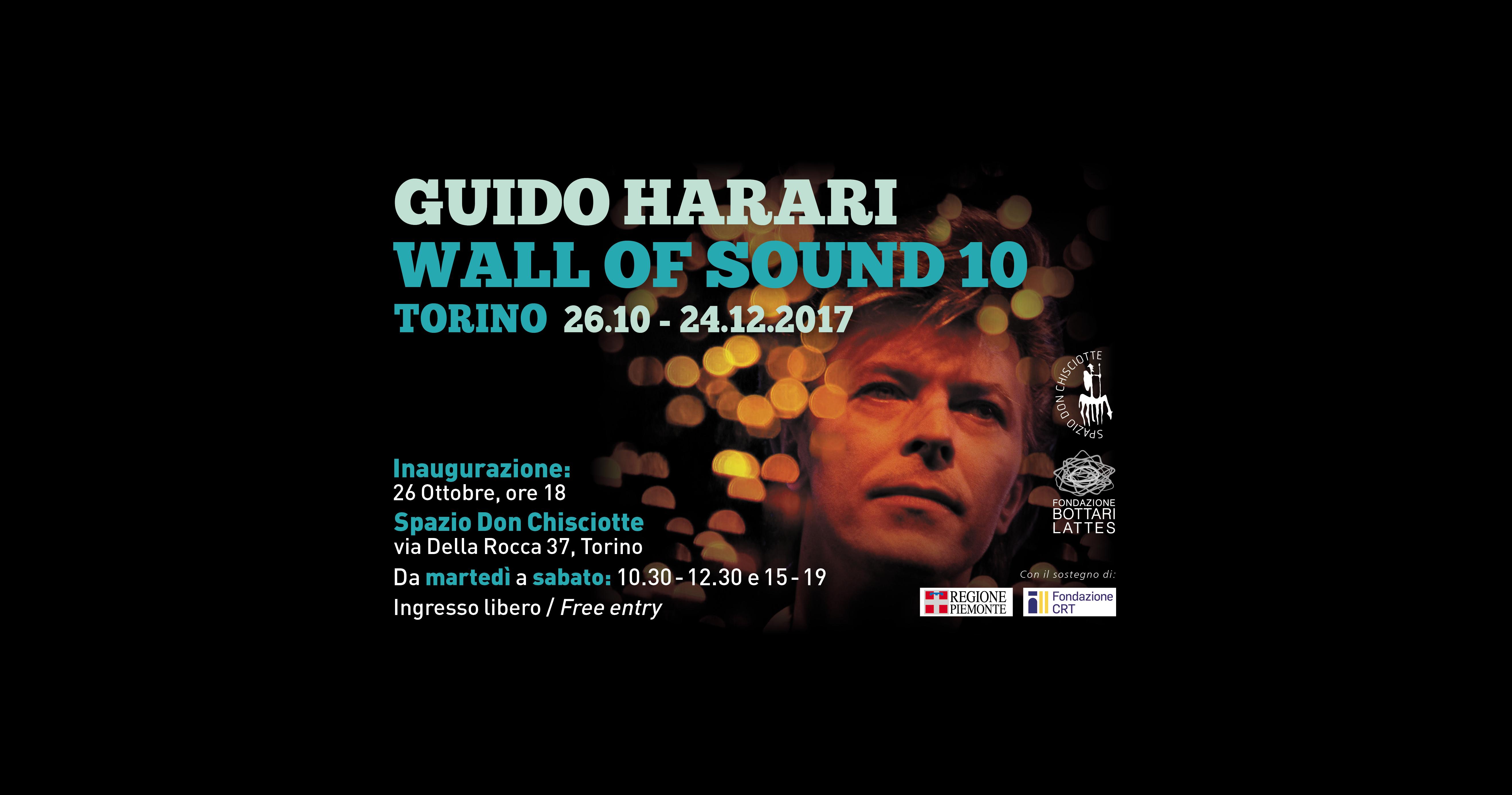 Guido Harari  Wall of Sound 10 a Torino