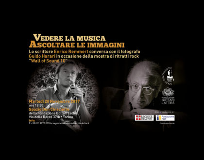 Incontro sulla fotografia musicale con Guido Harari e Enrico Remmert