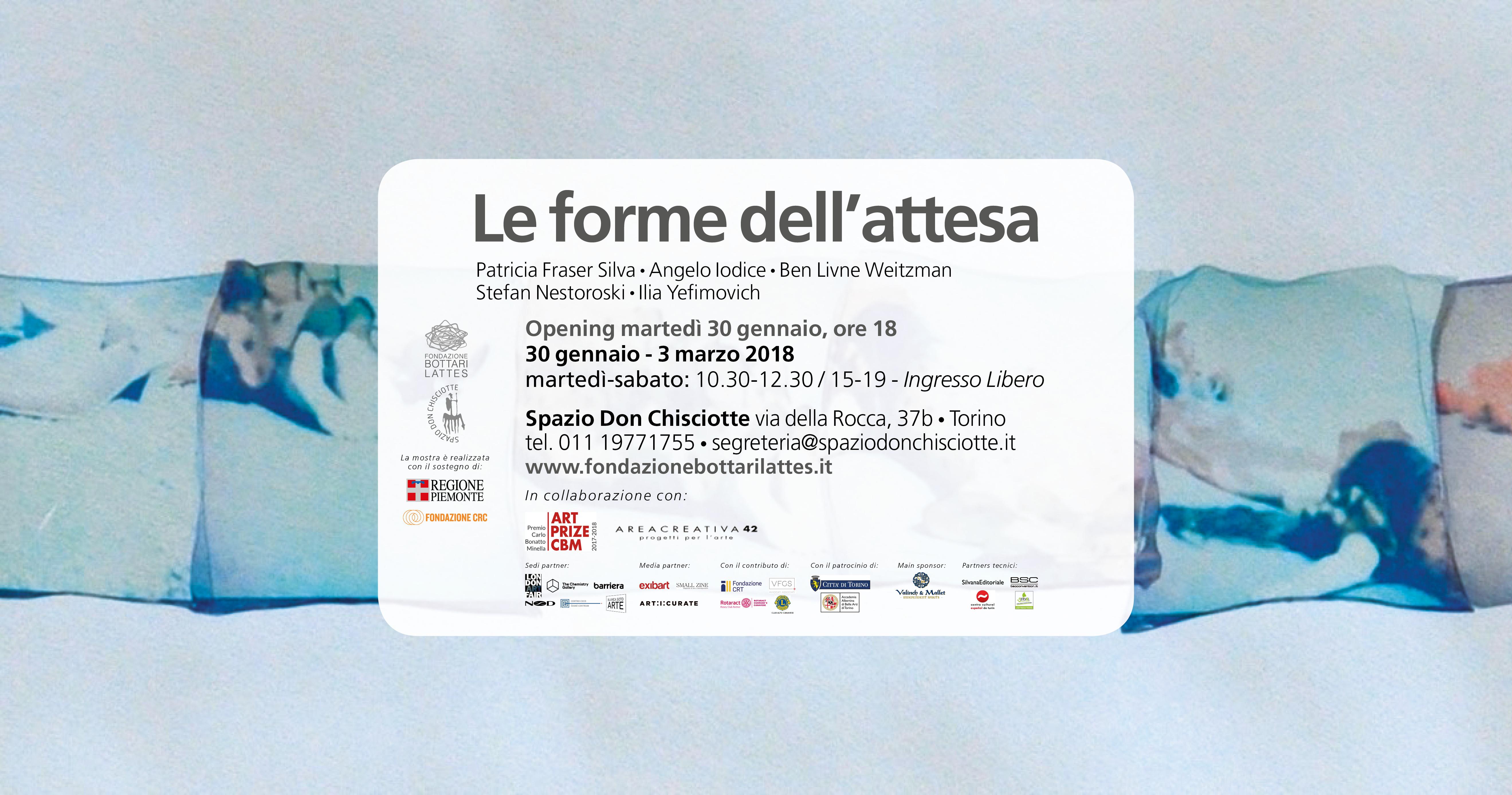 """Mostra """"Le forme dell'attesa"""":  cinque artisti internazionali  dell'Art Prize CBM"""