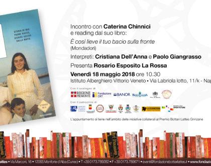 Il Premio Bottari Lattes a Scampia con Caterina Chinnici per incontro-reading sulla legalità