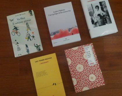 I finalisti del Premio Bottari Lattes Grinzane 2018