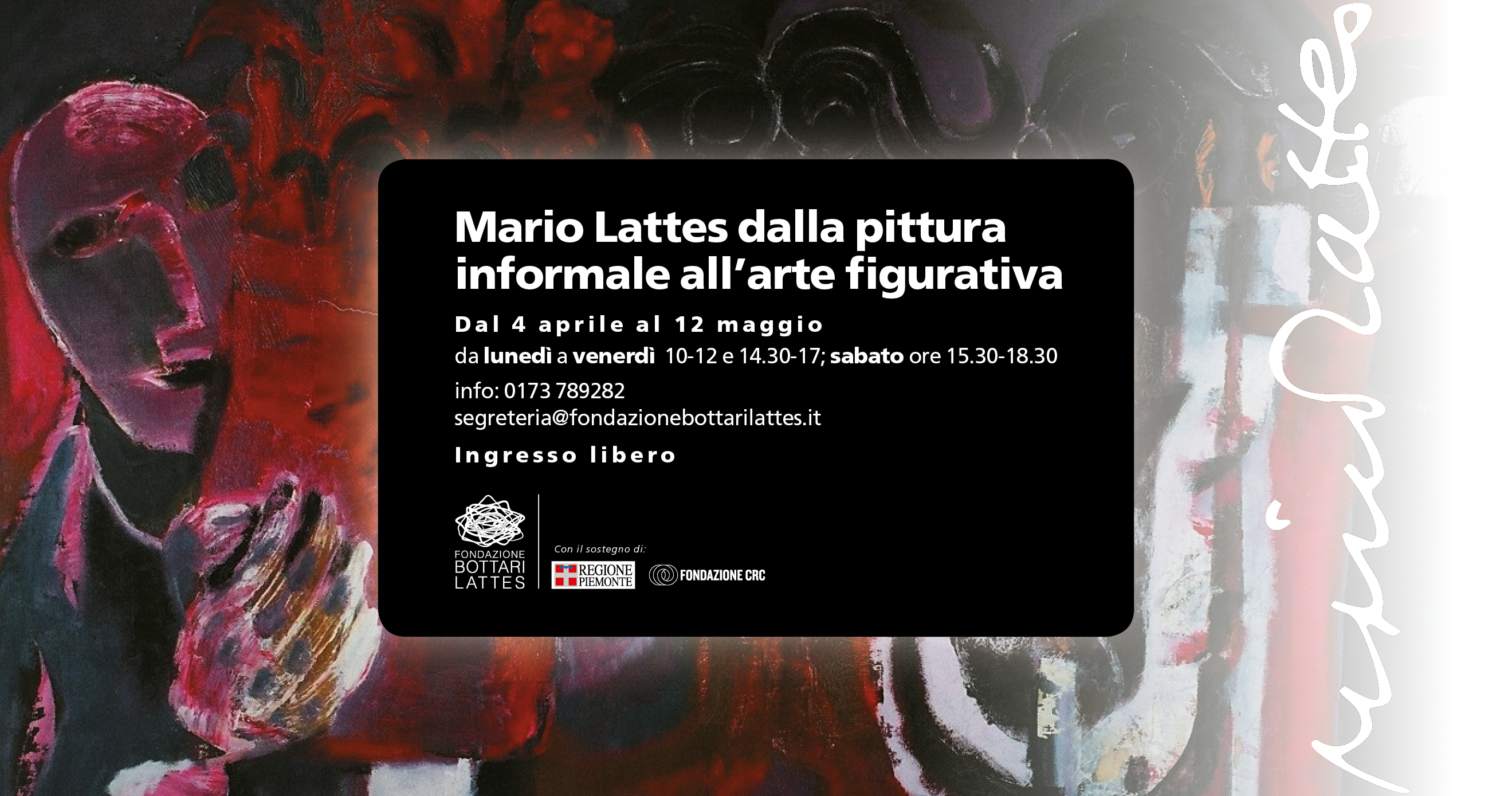 Mario Lattes dalla pittura informale all'arte figurativa