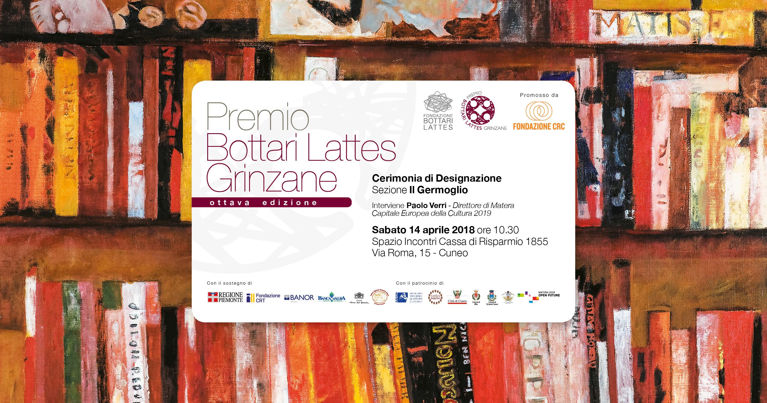 Designazione finalisti Premio Bottari Lattes Grinzane 2018