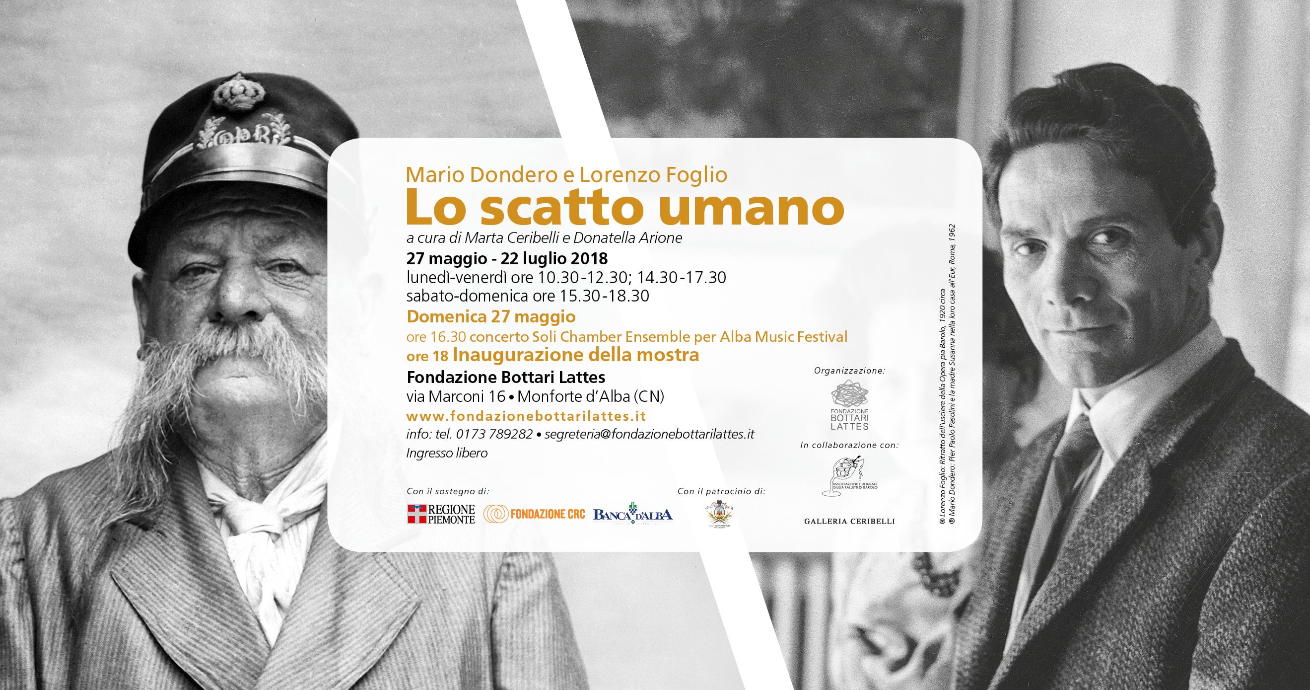 Mario Dondero e Lorenzo Foglio - Lo scatto umano