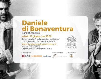 "Daniele di Bonaventura in concerto con ""Bandoneón Solo"""