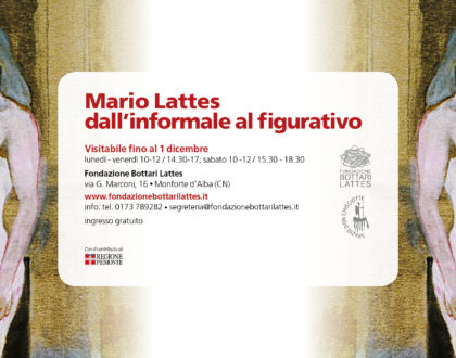 Mario Lattes dall'informale al figurativo