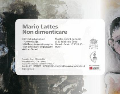 Il Giorno della Memoria alla Fondazione Bottari Lattes a Torino