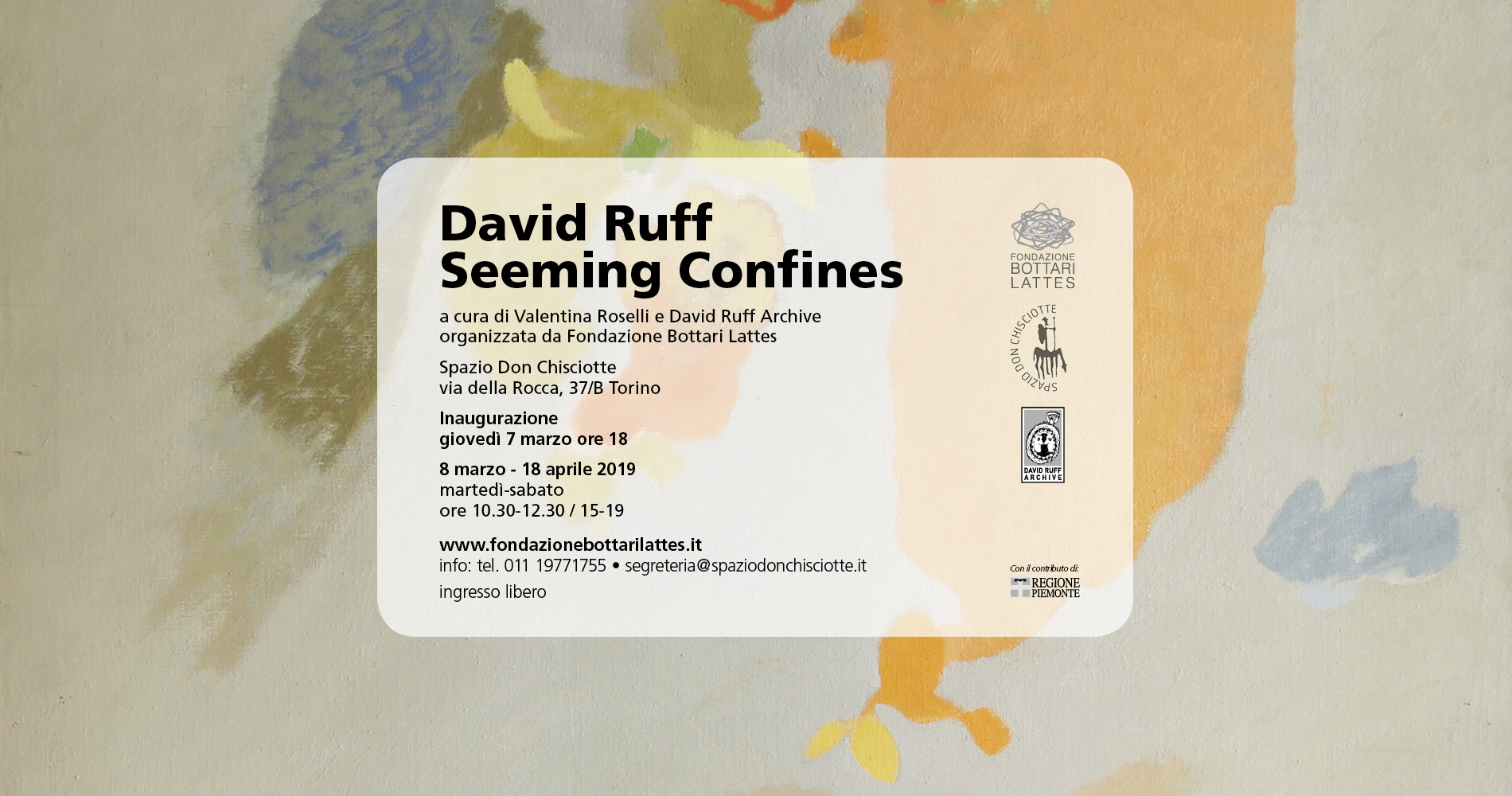 "David Ruff ""Seeming Confines"""
