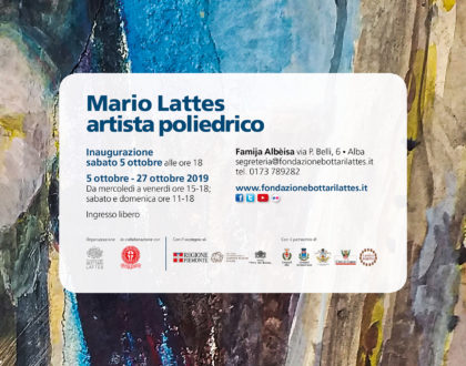 Mario Lattes artista poliedrico