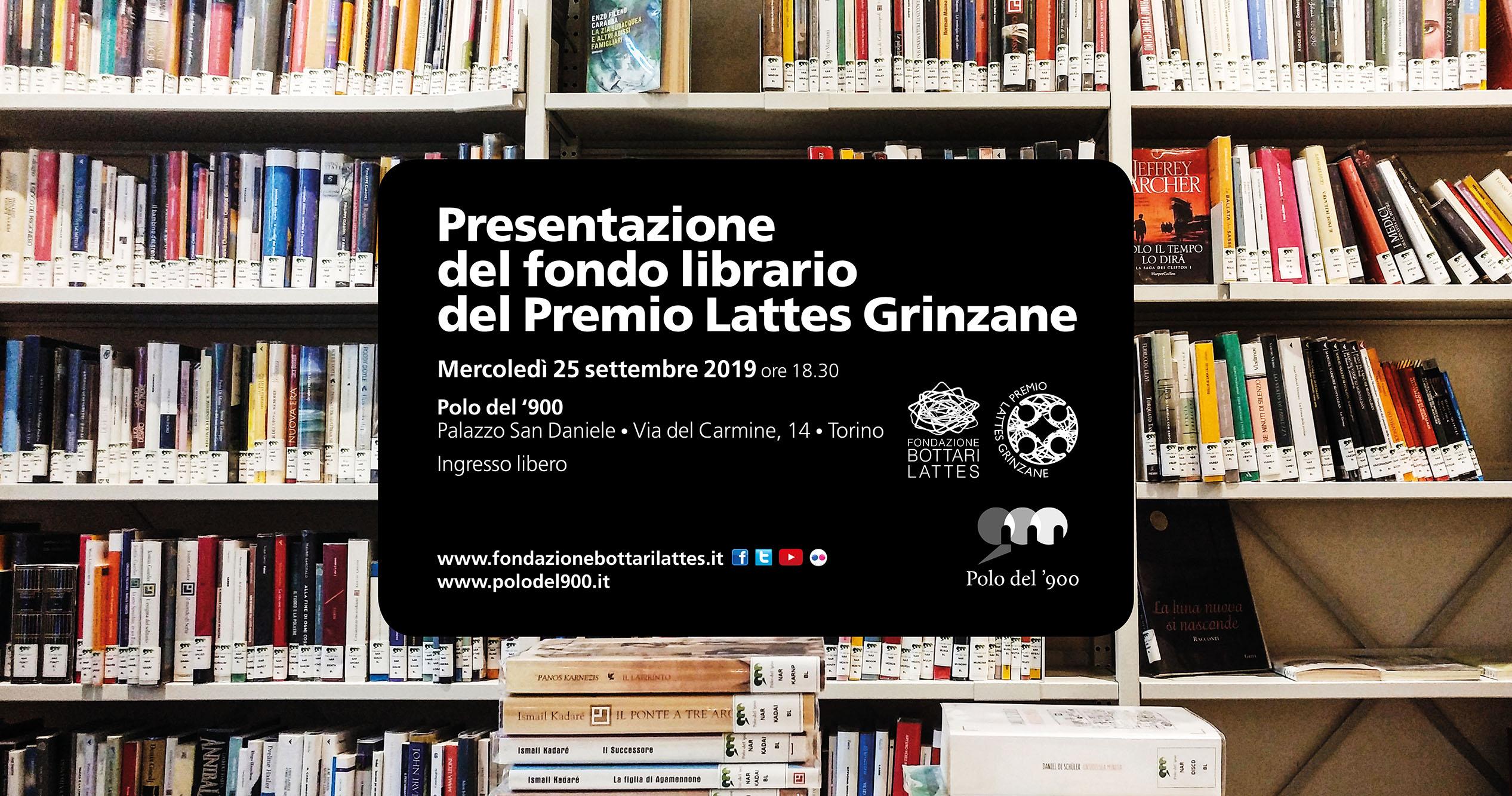 I libri del Premio Lattes Grinzane in lettura a tutti al Polo del '900