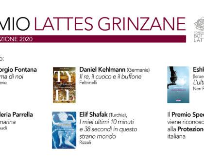 Premio Lattes Grinzane 2020: i finalisti e il Premio Speciale