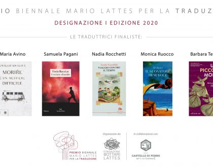 Le 5 finaliste Premio Mario Lattes per la Traduzione