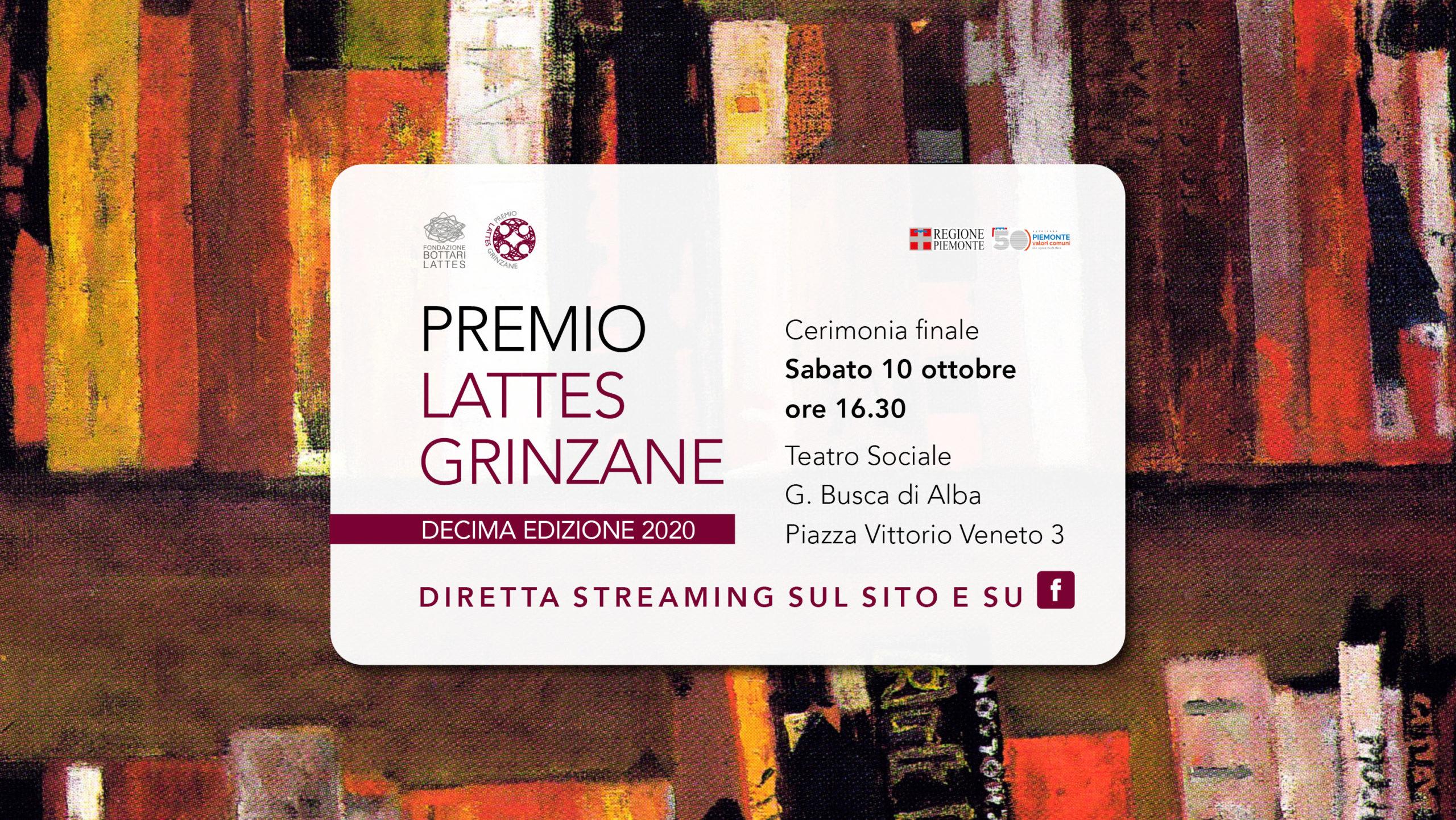 Premio Lattes Grinzane – X edizione