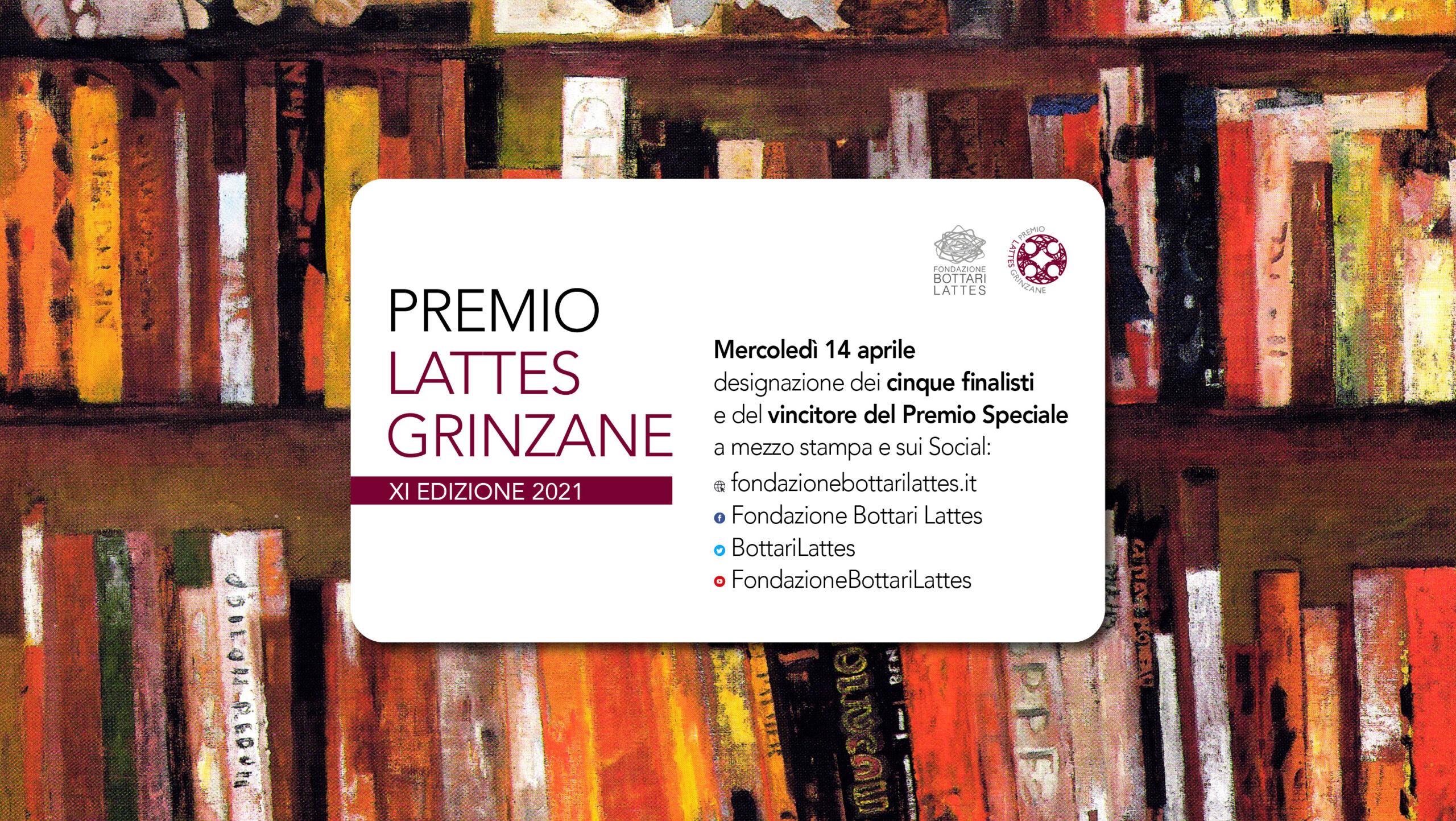 Designazione dei finalisti in concorso e del Premio Speciale dell'XI edizione del Premio Lattes Grinzane